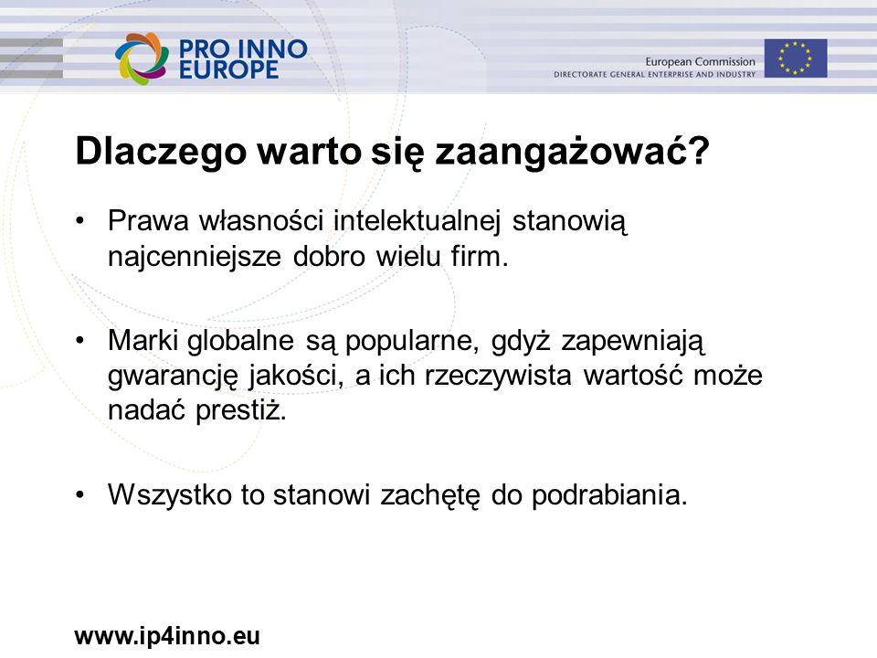 www.ip4inno.eu Dlaczego warto się zaangażować.
