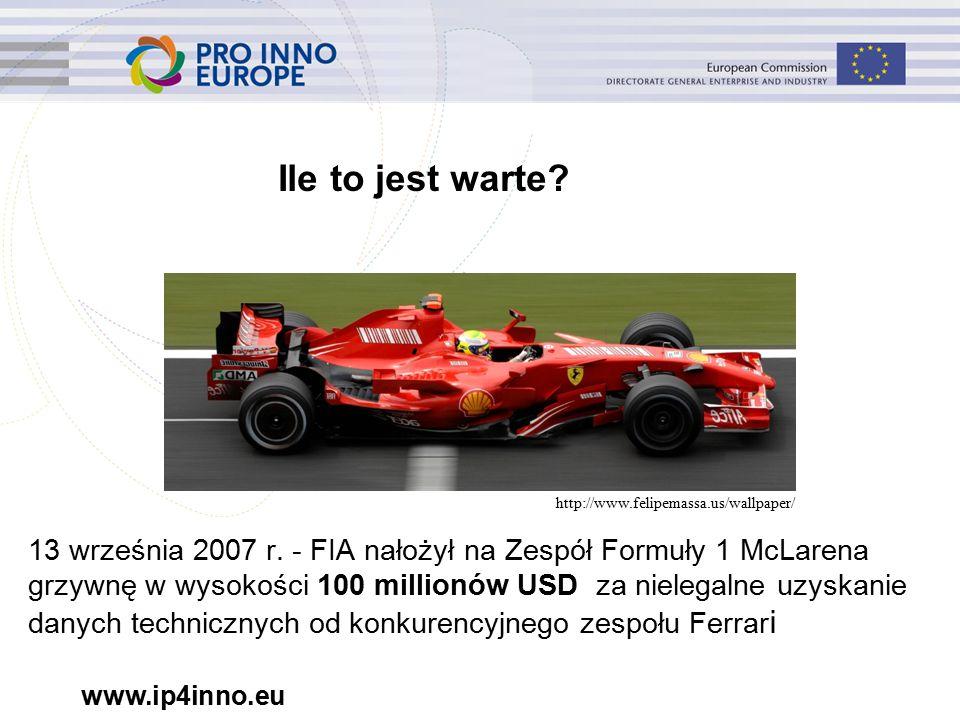 www.ip4inno.eu 13 września 2007 r.