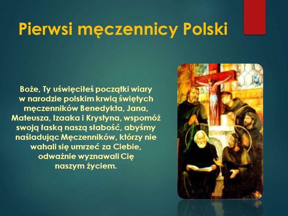 Święty Stanisław ze Szczepanowa – główny patron Ojczyzny Wszechmogący Boże, święty Stanisław, biskup, nieustraszenie broniąc Twojej chwały, padł pod ciosami prześladowców, spraw, abyśmy dzięki jego wstawiennictwu aż do śmierci trwali w nienaruszonej wierze i miłowali naszą Ojczyznę.