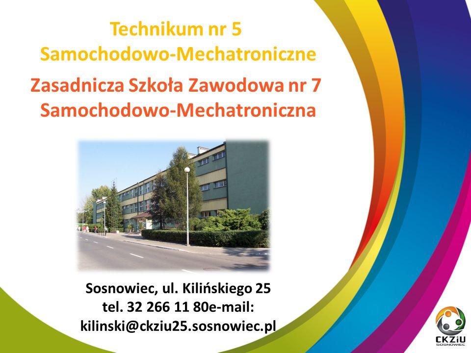 Sosnowiec, ul. Kilińskiego 25 tel.