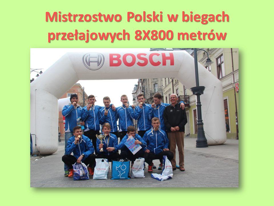 Mistrzostwo Polski w biegach przełajowych 8X800 metrów