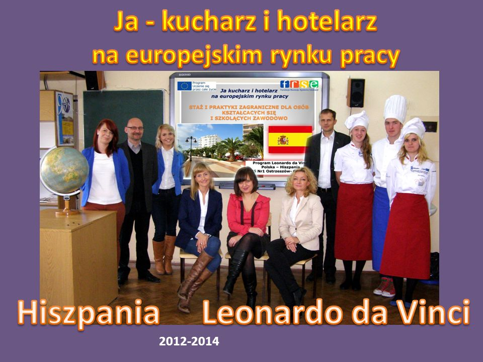 Projekt Hiszpania i Projekt 5 stronny 2012-2014