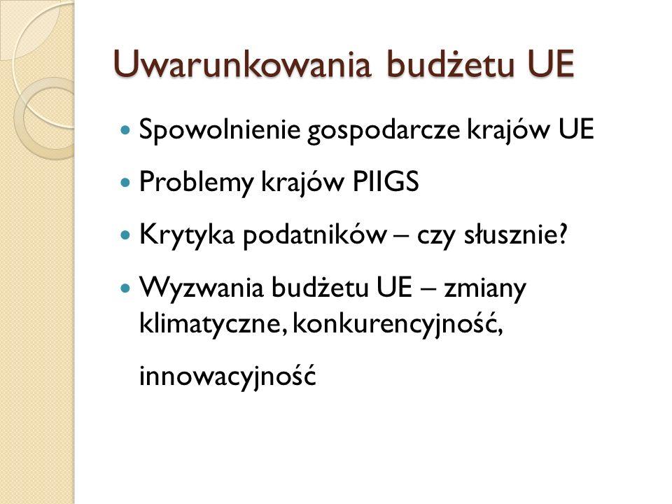 Budżet UE 2014-2020 dla Polski Polska jest największym beneficjentem unijnych transferów, jako kraj duży i mniej zamożny w stosunku do innych krajów UE.
