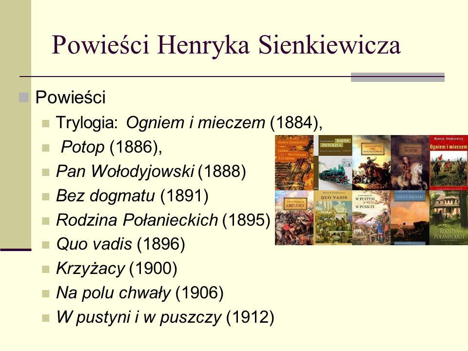 Twórczość w Stanach Zjednoczonych Nowele powstałe w Stanach Zjednoczonych Orso (1880) Latarnik (1881) Wspomnienie z Maripozy (1882) Sachem (1883)