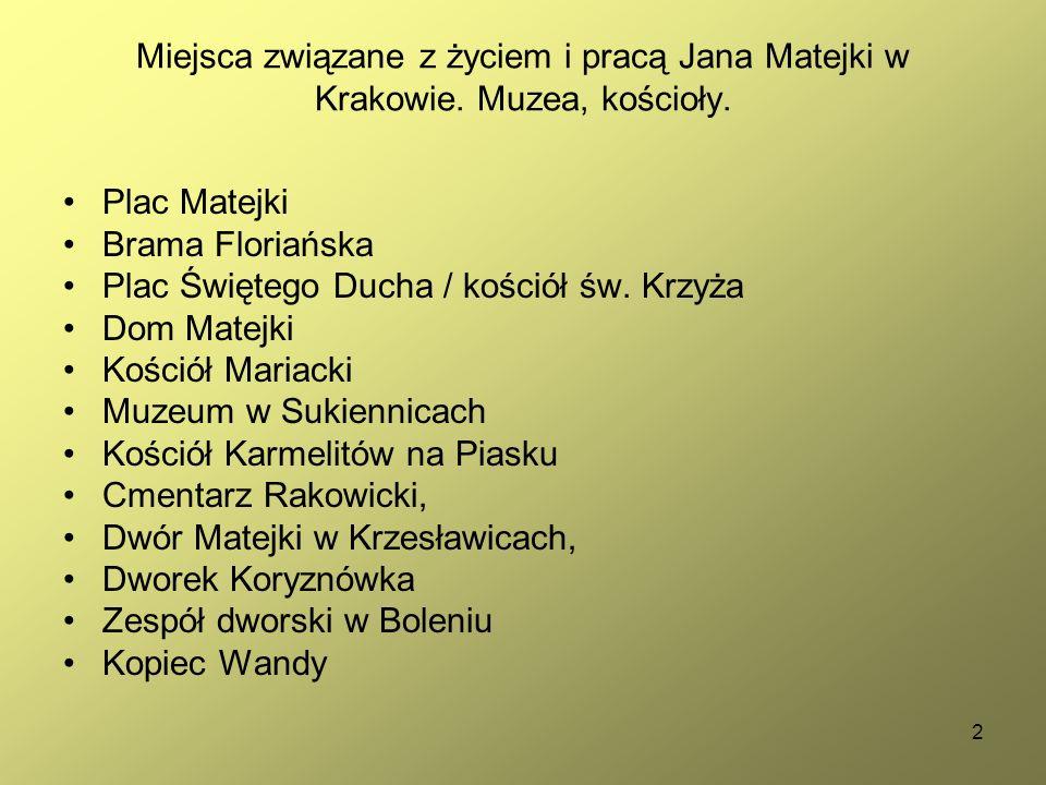 23 Ubiory w Polsce 1200-1795 ( Jan Matejko).Cz. 2.