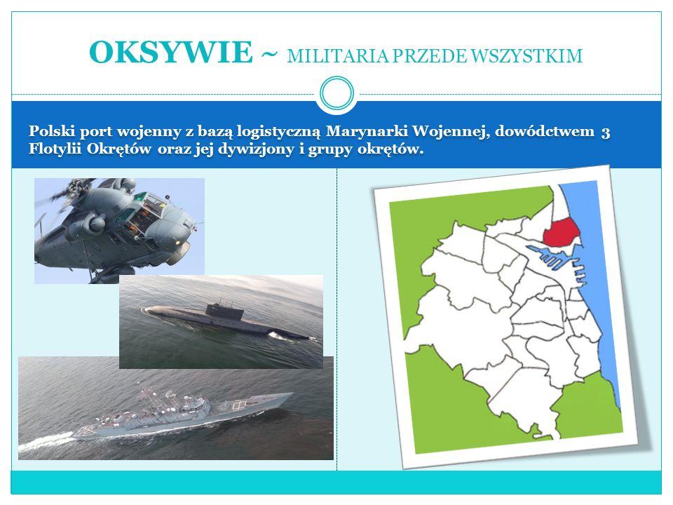 Przecięta niemal dokładnie na pół przez Potok Cisowski inaczej Cisowiankę.