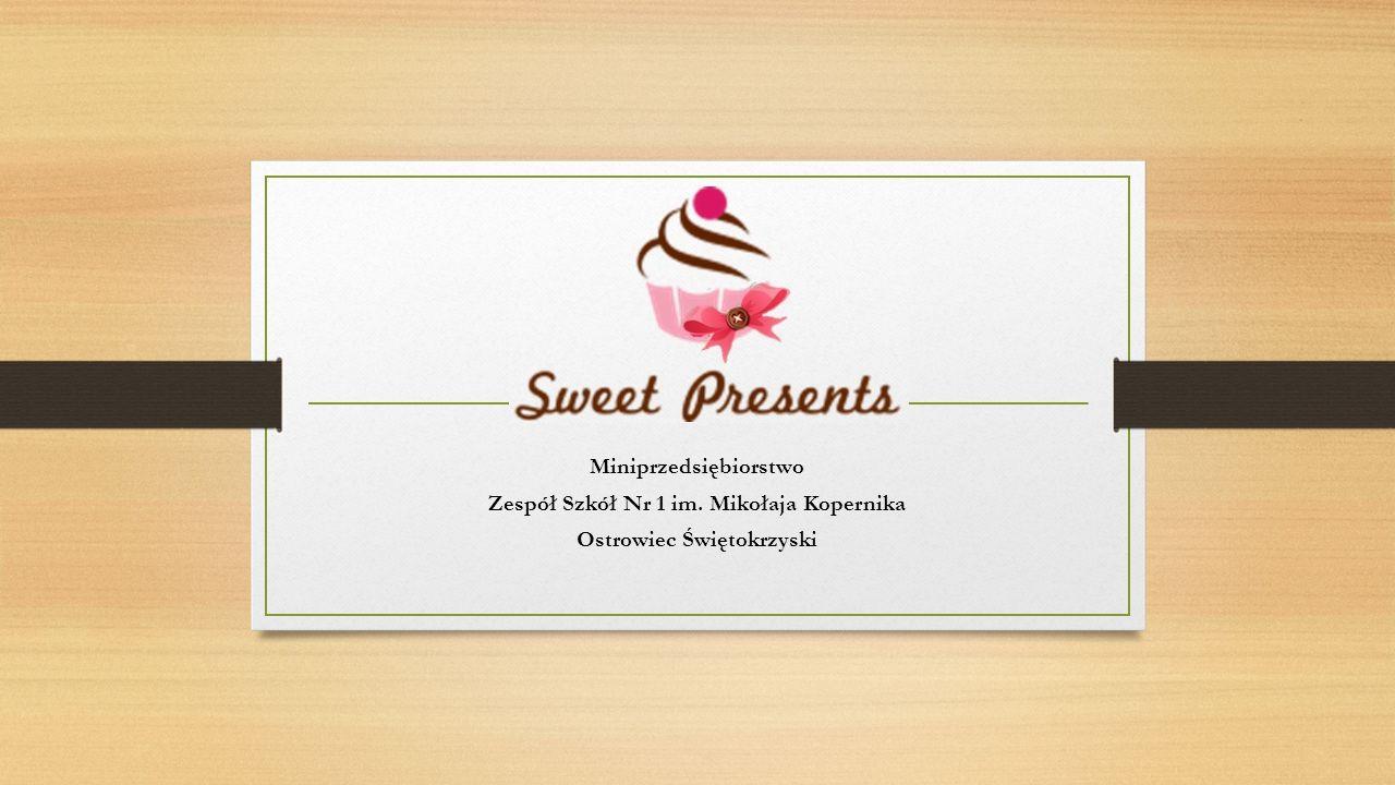 Misja firmy Misją firmy jest zaspokojenie potrzeb klientów i wprowadzenie na rynek nowej, ciekawej formy małych podarunków w postaci wyrobów cukierniczych.