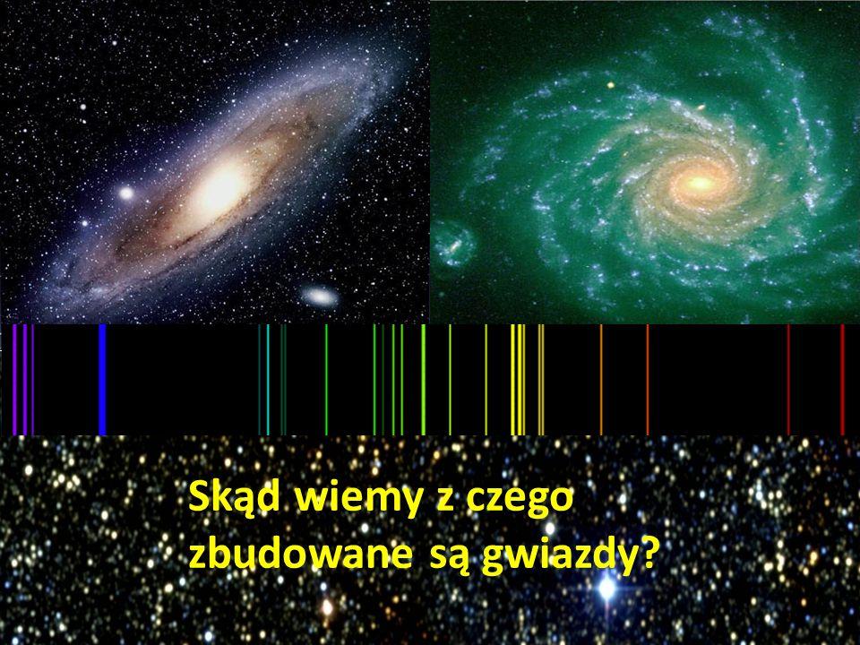 Skąd wiemy z czego zbudowane są gwiazdy?
