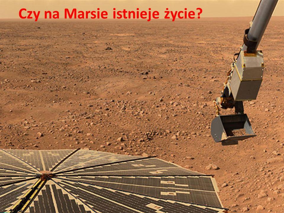 Czy na Marsie istnieje życie?
