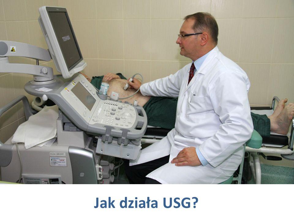 Jak działa USG?