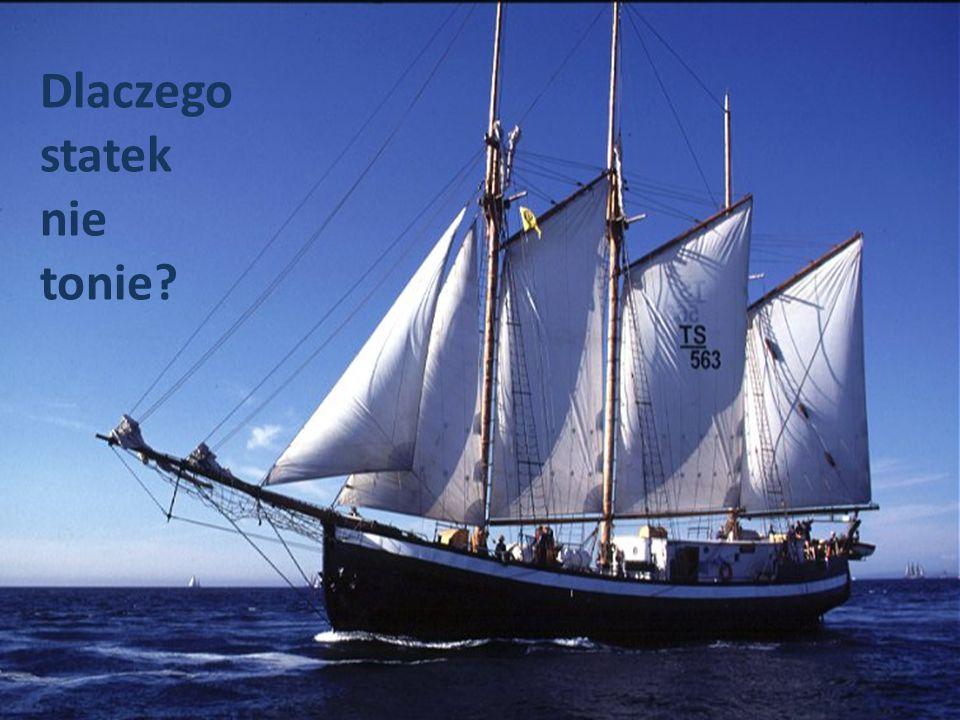 Dlaczego statek nie tonie?