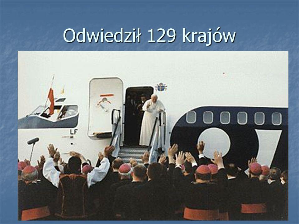 Odwiedził 129 krajów