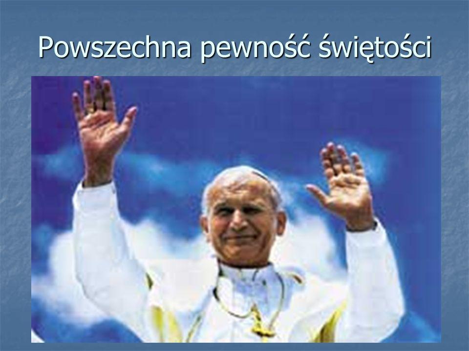 Z wdzięcznością Bogu za wielki dar Jana Pawła II Ks.