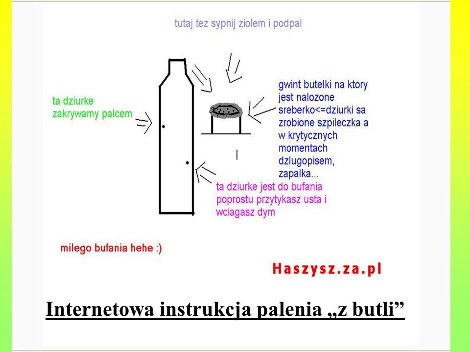 """Internetowa instrukcja palenia """"z butli"""