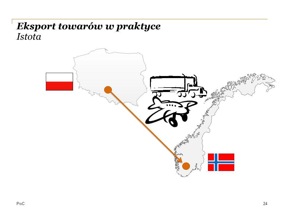 PwC Eksport towarów w praktyce Istota 24
