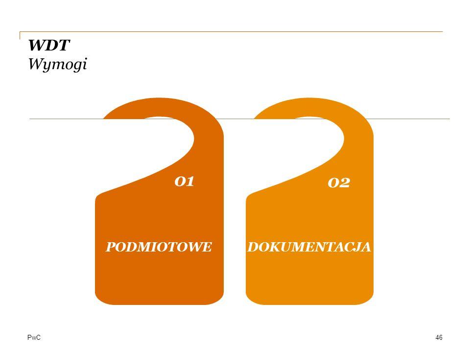PwC WDT Wymogi PODMIOTOWE 01 0202 04 DOKUMENTACJA 46