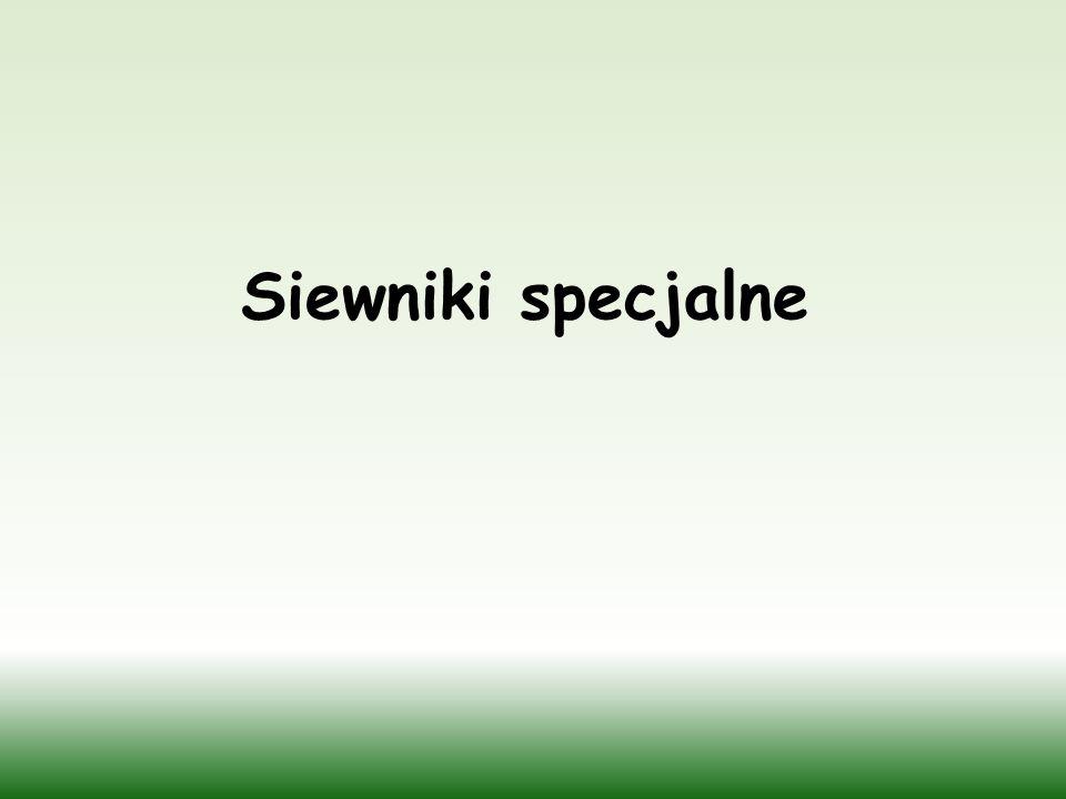 Siewniki specjalne