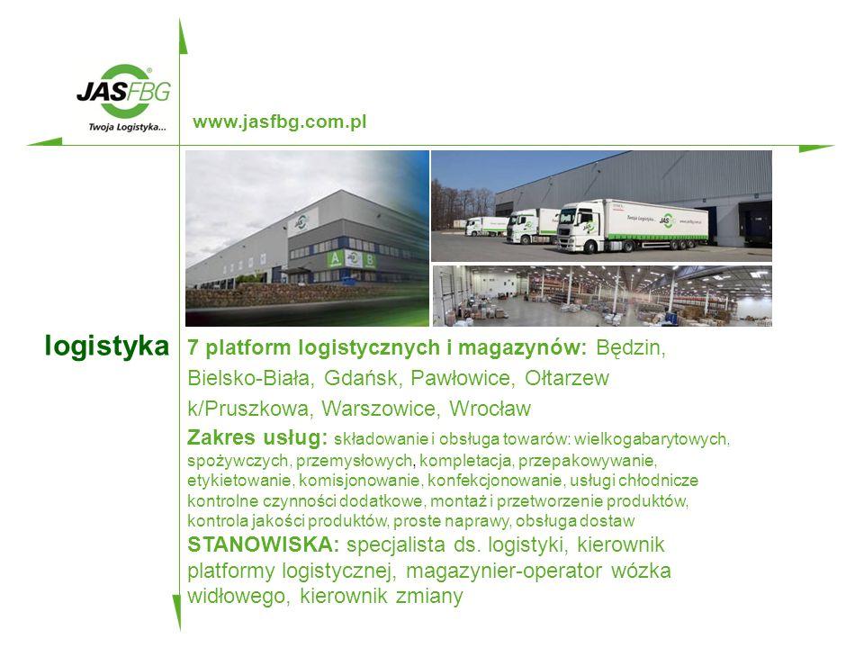 kluczowe kompetencje www.jasfbg.com.pl SPEDYTOR MIĘDZYNARODOWY CAŁOPOJAZDOWY