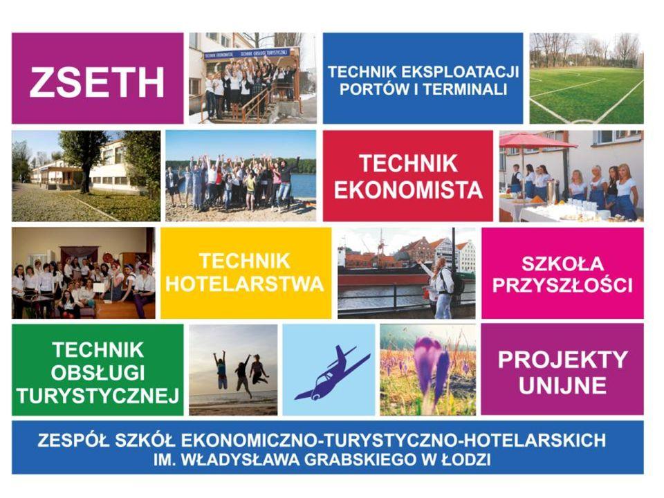 SZKOŁA SUKCESU Srebrnej Szkoły 2016 T echnikum nr 1 w Zespole Szkół Ekonomiczno-Turystyczno-Hotelarskich im.