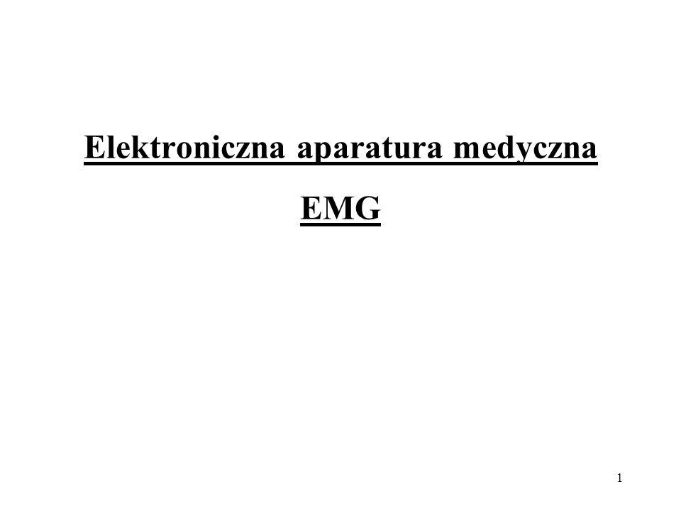 1 Elektroniczna aparatura medyczna EMG