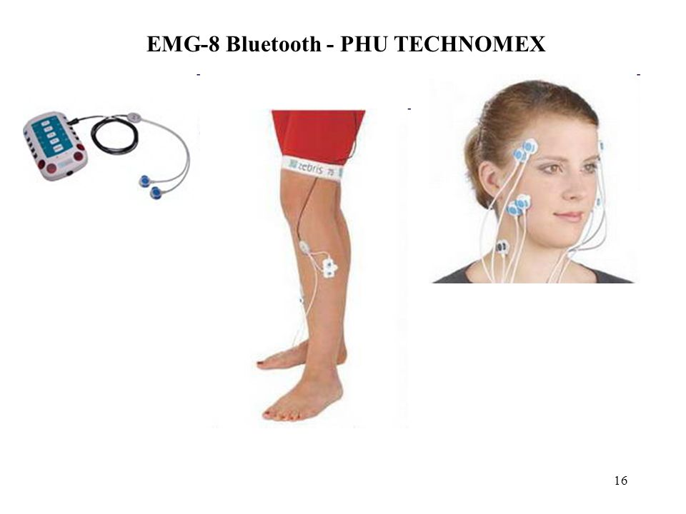 16 EMG-8 Bluetooth - PHU TECHNOMEX