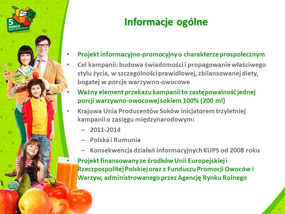 Badanie świadomości Polska 2013 Co daje Pani zdaniem spożywanie owoców i warzyw.