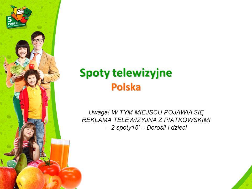 Kampania w mediach, Rumunia Piątkowscy – warzywno-owocowa rodzinka