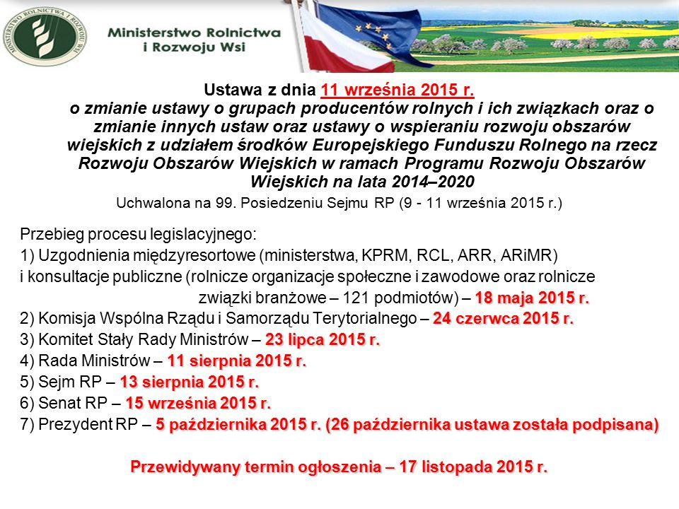 """Przyczyny nowelizacji dostosowanie przepisów do zasad i warunków udzielania pomocy finansowej grupom producentów rolnych w ramach działania """"Tworzenie grup producentów i organizacji producentów objętego PROW 2014-2020; Zdobyte doświadczenia orasz zidentyfikowane ryzyka w zakresie organizowania się producentów w grupy producentów rolnych, jakie pojawiły się w trakcie funkcjonowania obecnie obowiązujących przepisów (konieczność jednolitości procedur i zasad sprawowania kontroli); Wnioski z ustaleń pokontrolnych Europejskiego Trybunału Obrachunkowego Komisji Europejskiej (tworzenie sztucznych warunków do uzyskania statusu GPR); dostosowanie produkcji producentów rolnych zrzeszonych w grupie do wyzwań i oczekiwań rynku (nie tylko pod względem jakości i ilości, ale również asortymentu sprzedawanych produktów)"""