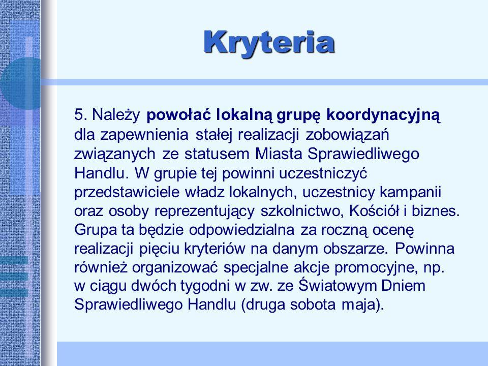 Kryteria 5.