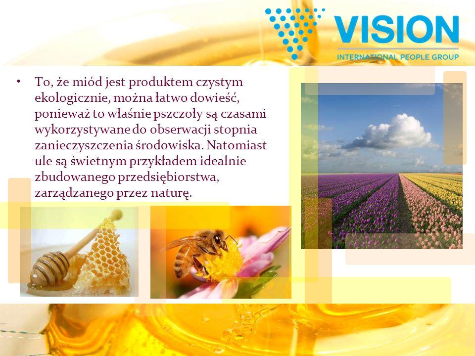 To, że miód jest produktem czystym ekologicznie, można łatwo dowieść, ponieważ to właśnie pszczoły są czasami wykorzystywane do obserwacji stopnia zan