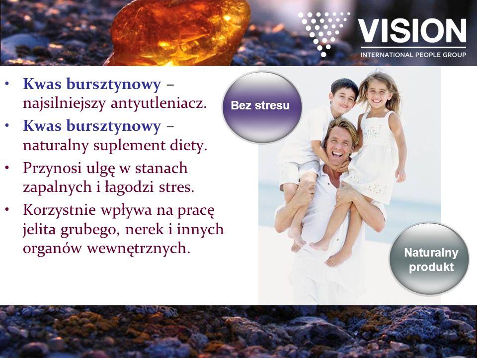 Kwas bursztynowy – najsilniejszy antyutleniacz.Kwas bursztynowy – naturalny suplement diety.