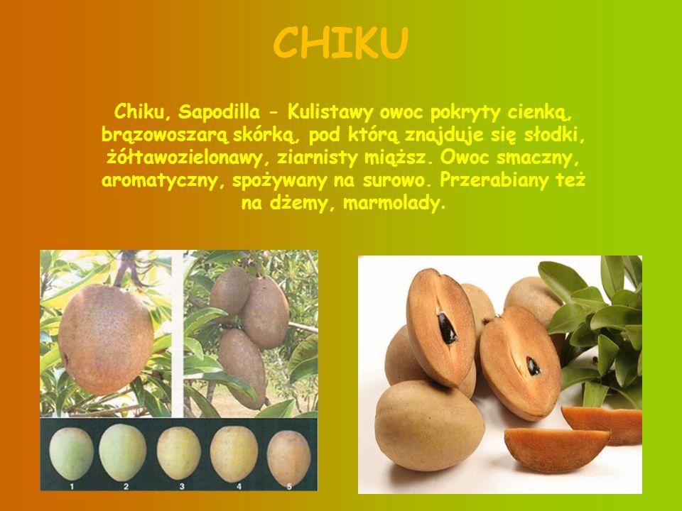 3 DURIAN Często nazywany królem owoców .