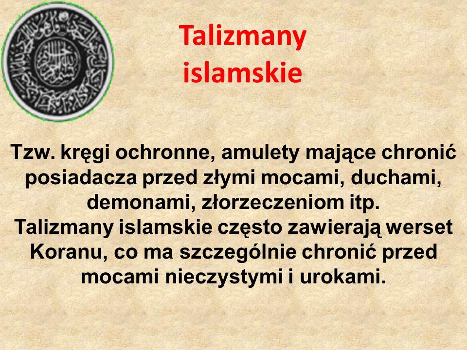 Talizmany islamskie Tzw.