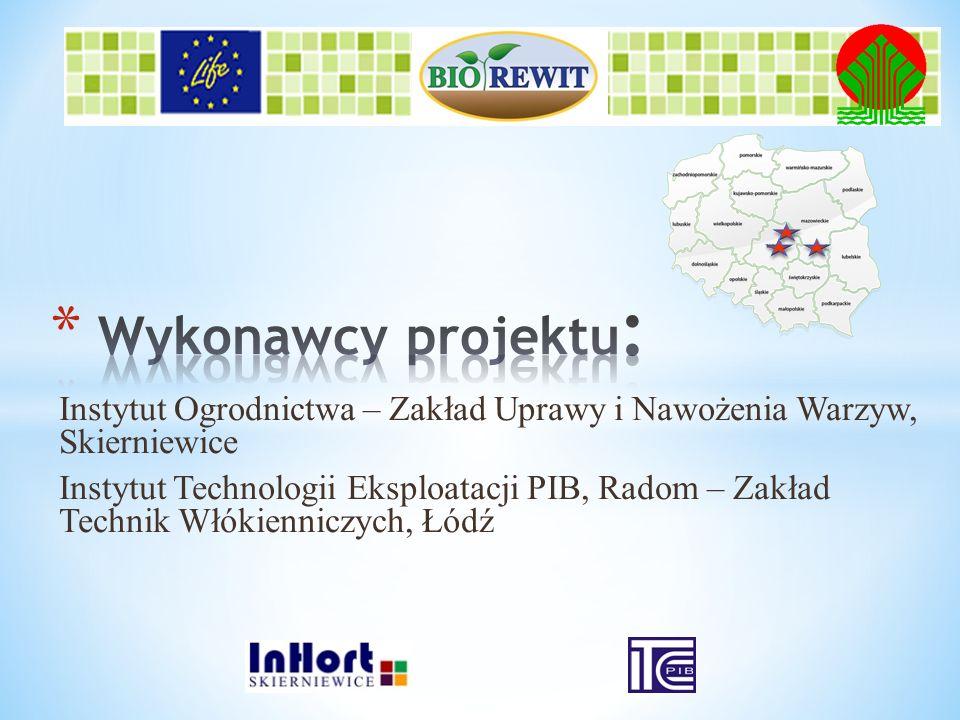 Projekt realizowany z udziałem Instrumentu Finansowego LIFE+ Unii Europejskiej i dofinansowany ze środków Narodowego Funduszu Ochrony Środowiska i Gospodarki Wodnej Finansowanie z KE – 50% Dofinansowanie z NFOŚiGW -45% Środki własne - 5% Okres realizacji projektu: 01.01.2012 – 31.12.2014
