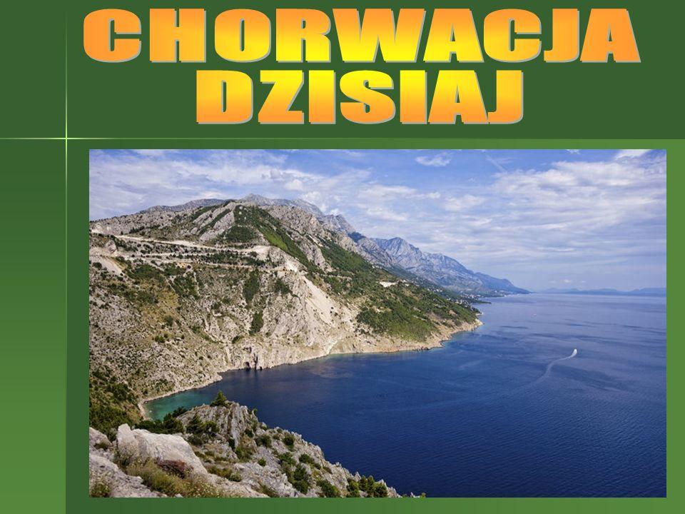 Chorwacja – państwo leżące w Europie Południowej graniczy: od południa z Bośnią, Hercegowiną i Czarnogórą od południowego zachodu ma dostęp do Morza Adriatyckiego od wschodu z Serbią od północy z Węgrami i Słowenią od południowego zachodu ma dostęp do Morza Adriatyckiego.