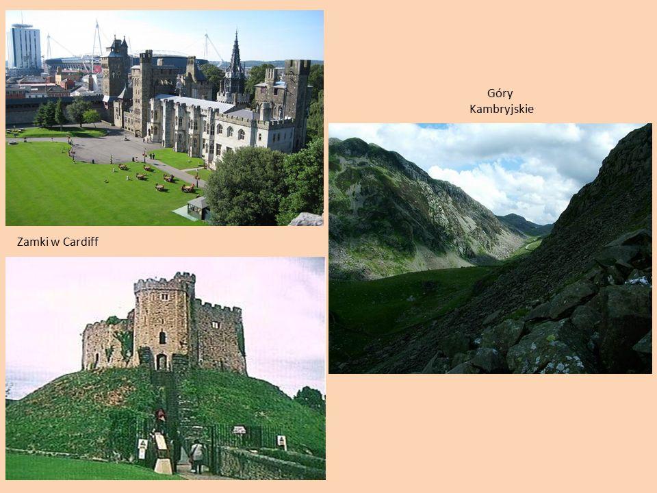 Zamki w Cardiff Góry Kambryjskie