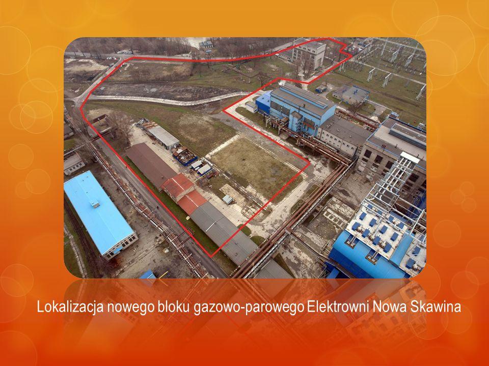 Lokalizacja nowego bloku gazowo-parowego Elektrowni Nowa Skawina