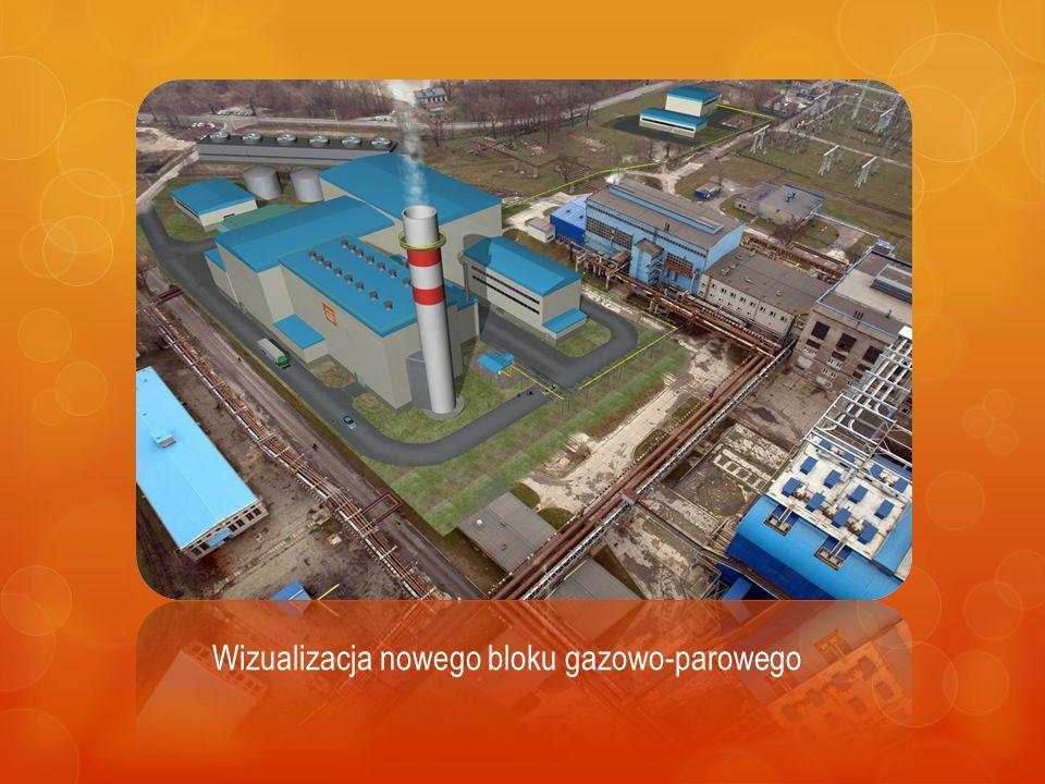 Wizualizacja nowego bloku gazowo-parowego