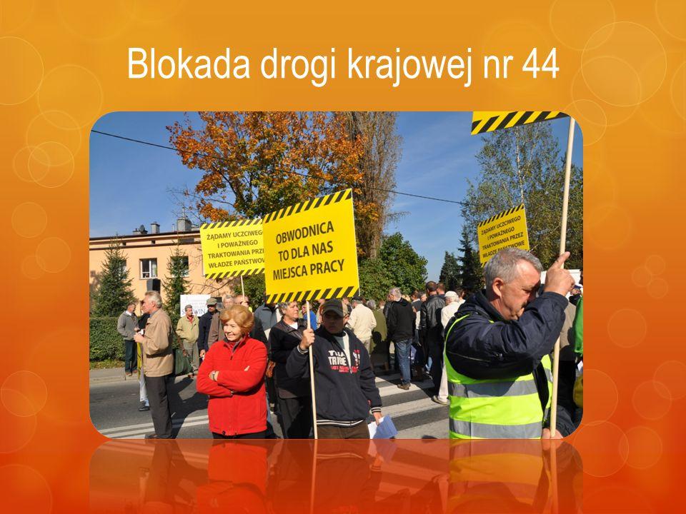 Blokada drogi krajowej nr 44