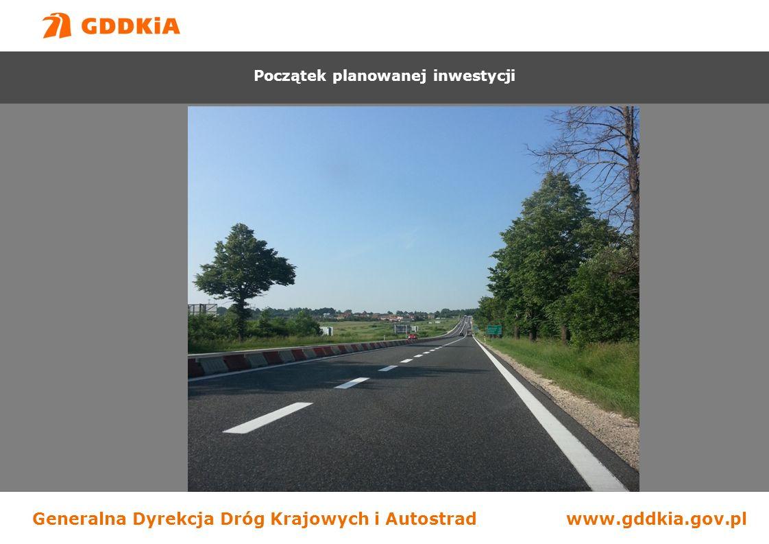 Generalna Dyrekcja Dróg Krajowych i Autostradwww.gddkia.gov.pl Początek robót Budowa drogi S-7 na odcinku Chęciny - Jędrzejów Początek planowanej inwestycji