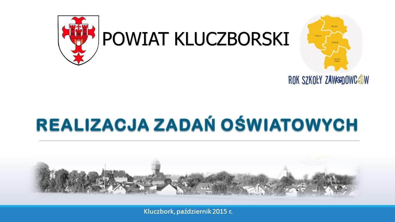 POWIAT KLUCZBORSKI Kluczbork, październik 2015 r.
