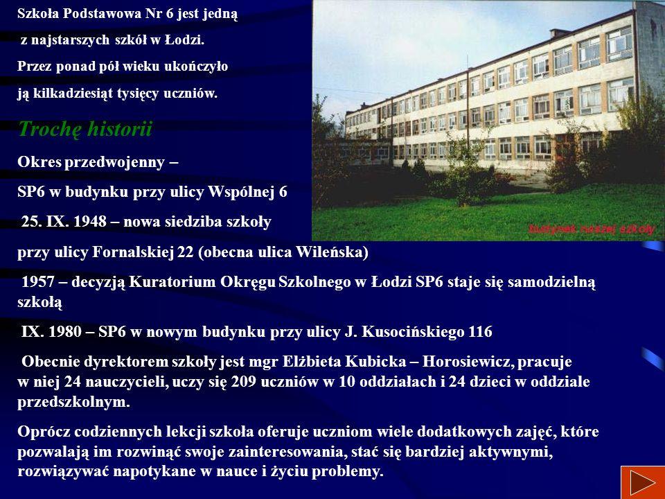 94-054 Łódź, ul. Kusocińskiego 116 retsat1.com.pl/sp6 tel. 42 6867504