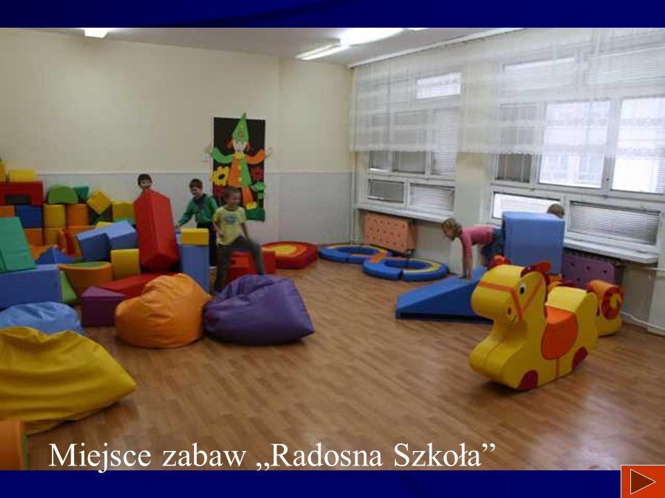"""miejsce zabaw """"Radosna Szkoła"""""""