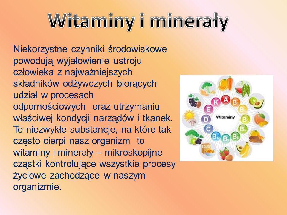 Przy niedoborze witamin i minerałów organizm zachowuje się niczym spalona i spękana słońcem ziemia.
