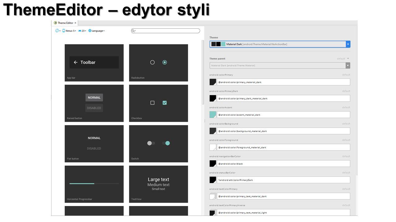 ThemeEditor – edytor styli