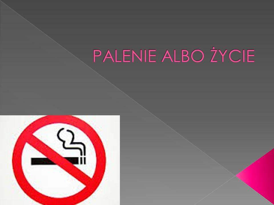 W papierosach znajduje się ponad 4000 związków chemicznych, z których aż 40 to substancje rakotwórcze.