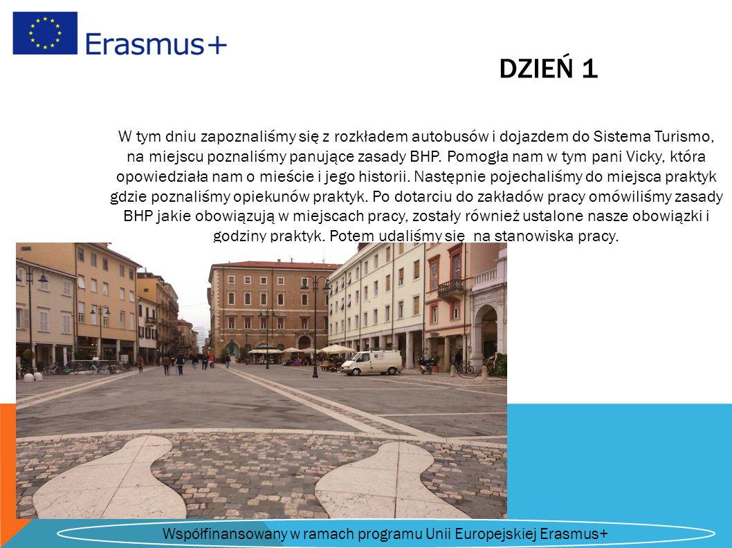 DZIEŃ 1 W tym dniu zapoznaliśmy się z rozkładem autobusów i dojazdem do Sistema Turismo, na miejscu poznaliśmy panujące zasady BHP.