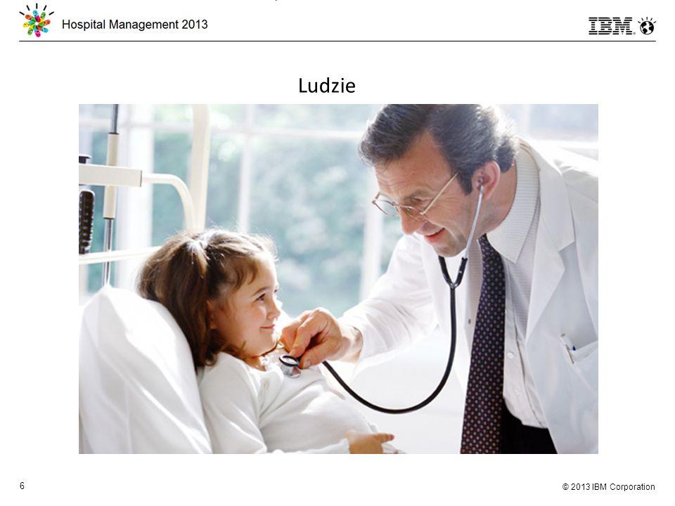 © 2013 IBM Corporation 7 Bycie dyrektorem szpitala – zadanie trudne i odpowiedzialne Presja i odpowiedzialność: Społeczna Finansowa Prawna