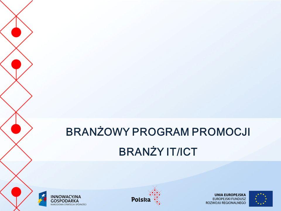 BRANŻOWY PROGRAM PROMOCJI BRANŻY IT/ICT