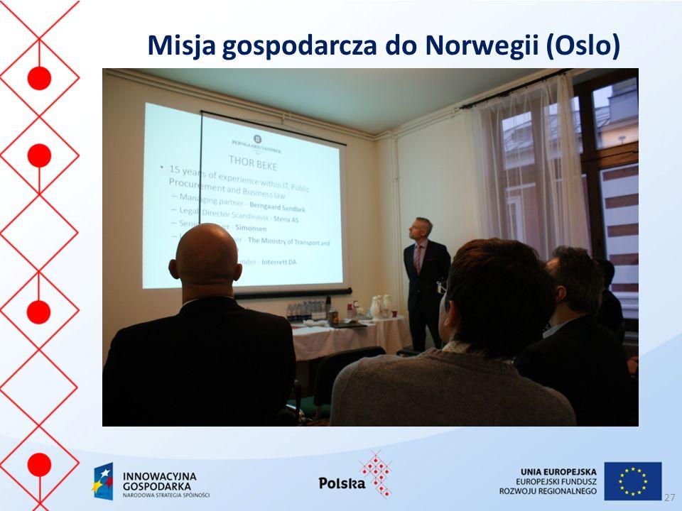 Misja gospodarcza do Norwegii (Oslo) 27